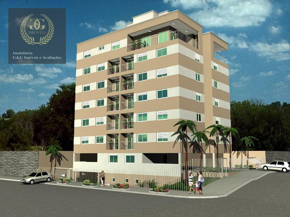 Apartamento Com 2 Dormitórios À Venda, 61 M² Por R$ 245.000 - Nossa Senhora Aparecida - Viamão/rs - Ap0103