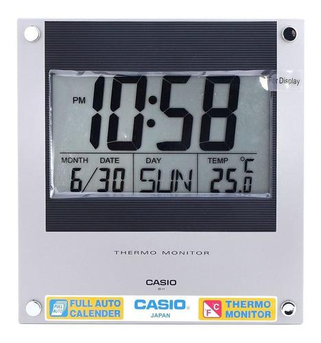 Reloj Casio Id 11s Pared Escritorio Termómetro 100% Original
