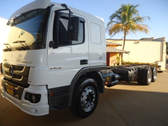 M.benz Atego 2426-2014-truck-chassi