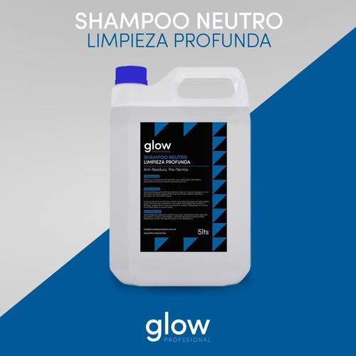 Imagen 1 de 1 de Shampoo Neutro Pretecnico Glow X2 Unidades Combo