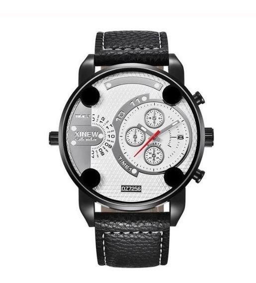 Relógio Masculino Pulseira De Couro Relógio De Pulso Barato