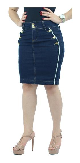Saias Evangélica Jeans Vários Modelos E Tamanhos P/ Escolher
