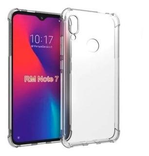 Estuche Xiaomi Redmi 7 Transparente Esquinas Reforzadas