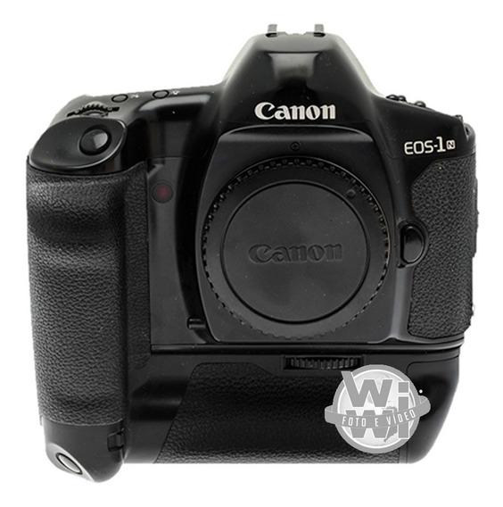 Câmera Canon Eos-1n Com Pb-e1 (usado)