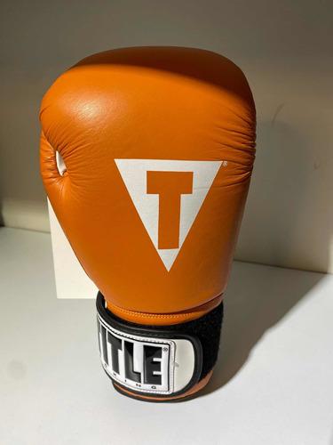 Imagen 1 de 4 de Guantes Title Pro Style Classic Orange Fpx