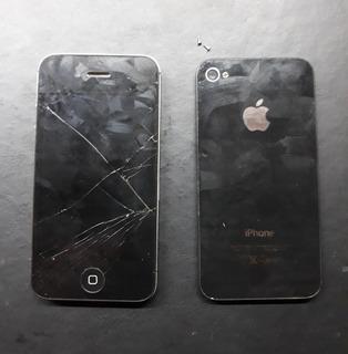 Smartphone iPhone 4s - Preto - Retirada De Peças - Completo