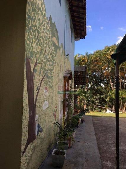 Chácara Com 3 Dormitórios À Venda, 1750 M² Por R$ 750.000 - Barreiro - Taubaté/sp - Ch0210