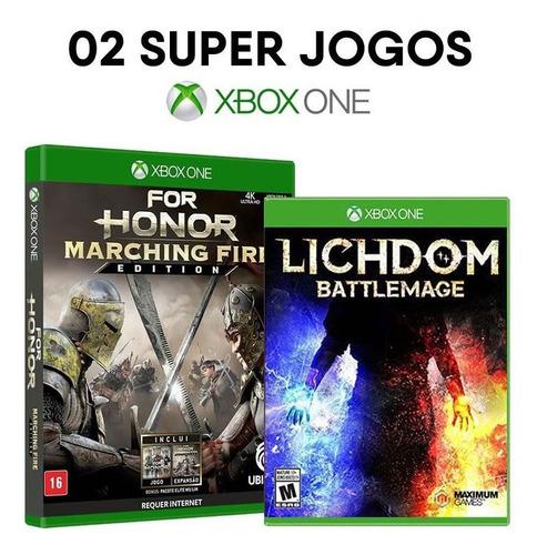 Imagem 1 de 3 de For Honor Marching Fire + Lichdom Battlemage [ Xbox One ]