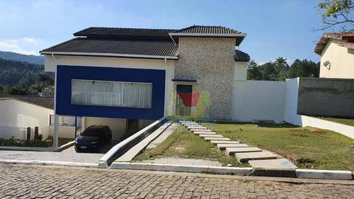 Imagem 1 de 30 de Sobrado Com 4 Dormitórios À Venda, 450 M² Por R$ 1.700.000,00 - Condomínio Refúgio Dos Pinheiros - Itapevi/sp - So0696