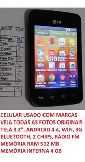 Celular LG L30 Sporty D125f Tela 3.3 Android 4.4 Wifi (07)