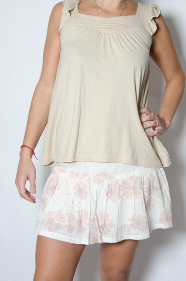 Minifalda Floreada