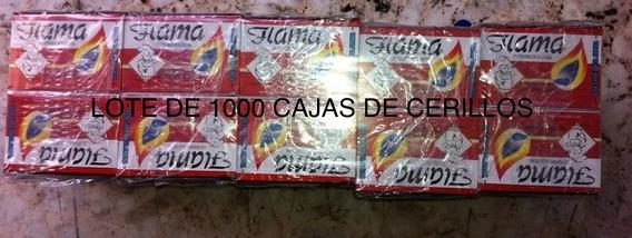 20 Lotes De 50 Cajas De Cerillos Marca Flama