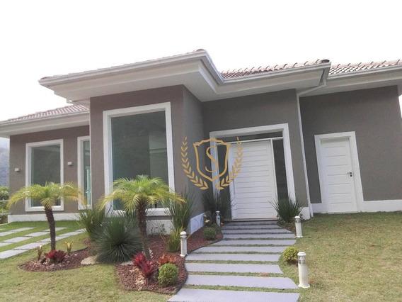 Casa Com 3 Dormitórios À Venda, 470 M² Por R$ 1.100.000 - Quebra Frascos - Teresópolis/rj - Ca0150