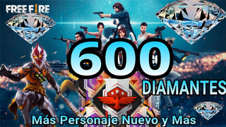 600 Diamantes Free Fire Mas Premios
