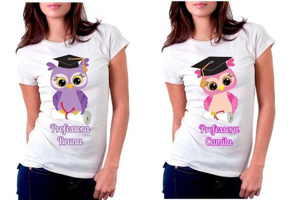 Camiseta Personalizada Para O Dia Do Professor Professora
