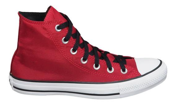 Tênis Converse Chuck Taylor All Star Hi Vermelho Escuro