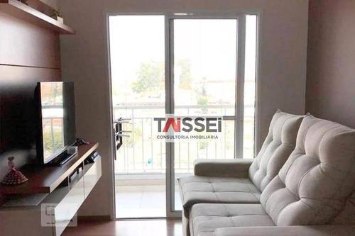 Apartamento Com 2 Dormitórios À Venda, 51 M² Por R$ 295.000,00 - Vila Santa Luzia - São Bernardo Do Campo/sp - Ap8167