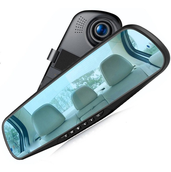 Mini Camera Para Carros Interna Hd Escondida Retorvisor Hlxy