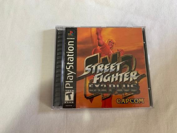 Street Fighter Ex2 Plus Ps1 Original Completo