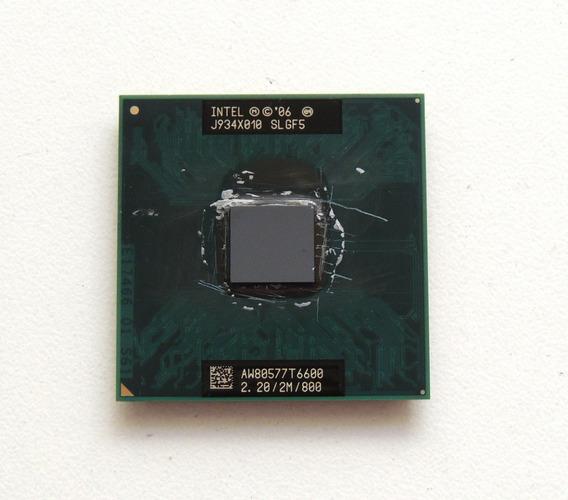 Processador Intel Core 2 Duo T6600 Para Notebok Dell 1545