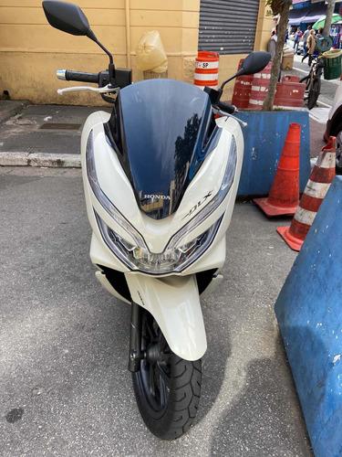 Imagem 1 de 4 de Honda Pcx Dlx 150 Branca