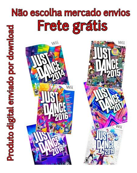 Pacote Just Dance 2014-2019 Mídia Digital Wii Desbloqueado