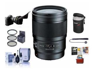 P/kina Opera 50mm F/1.4 Ff Lente P/ Nikon Bundle Con 72m ©