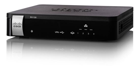 Router Cisco Rv130 K9 Usd 4g Single Wan 10 Vpn Oferta