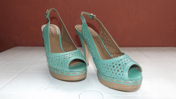 Zapatos Tacones Sandalias Damas Mujer Tallas 36 Y 37