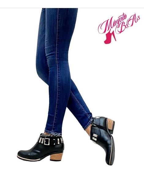 Zapatos Botas Botinetas Con Plataforma Otoño-invierno 2020