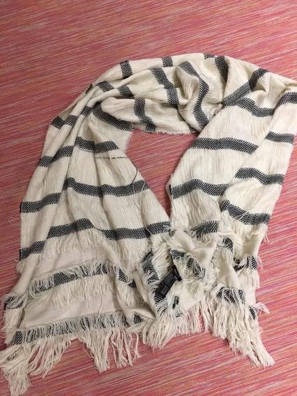 Pañuelo Tipo Bufanda Para Cuello Zara Importado