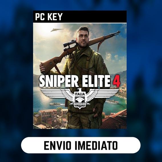 Sniper Elite 4 Pc Steam Gift Presente