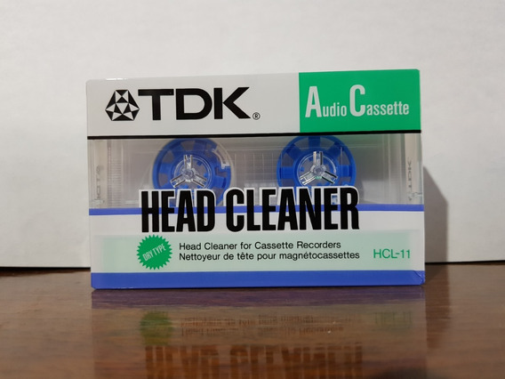Cassette Tdk Limpia Cabezales Head Cleaner Sellado