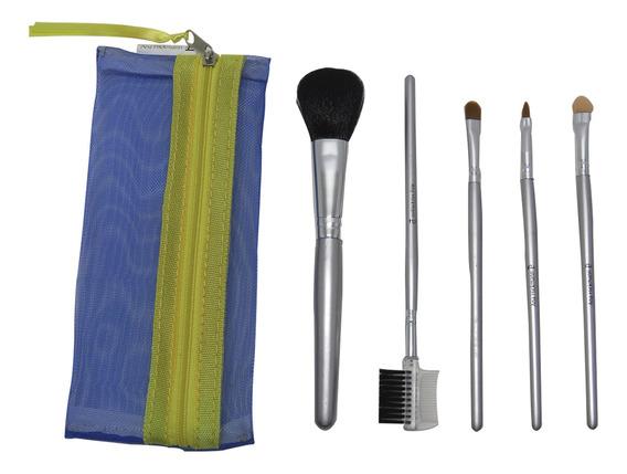 Pincéis Maquiagem Para Corretivo Iluminador Blush Relaxbeaut