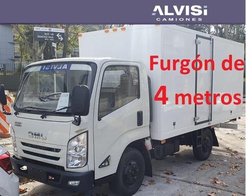 Imagen 1 de 14 de Jmc N720 Rueda Sencilla Con Furgón 4 Metros + Iva