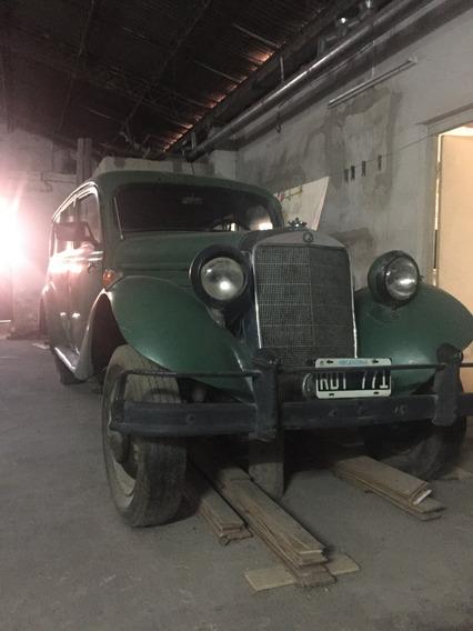 Mercedez Benz Diesel-1952,colección/antiguo-rural/mechita