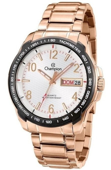 Relógio Champion Masculino Ca30418h Rosê