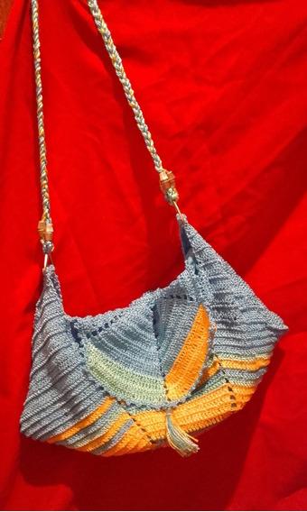Carteras Y Bolsos Artesanales En Crochet.