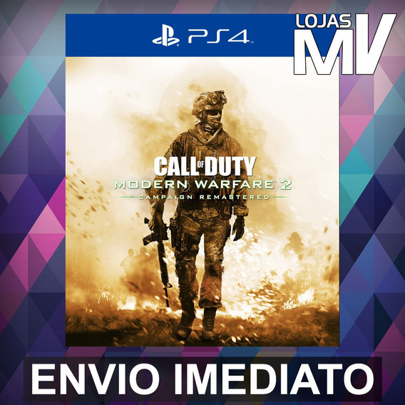 Call Of Duty Mw2 Campaign Remastered Ps4 Código 12 Dígitos