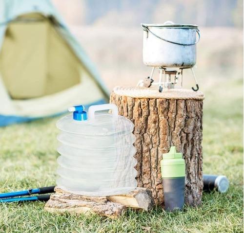 Bidon Para Agua  De  5  Litros  Plegable  Bolsa De Agua