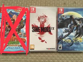 Jogos Nintendo Switch Bayonetta 2 E Sine Mora Ex