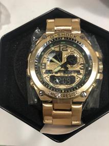Relógio Casio G-shock Dourado