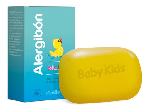 Jabón Alergibon Baby Kids - g a $161