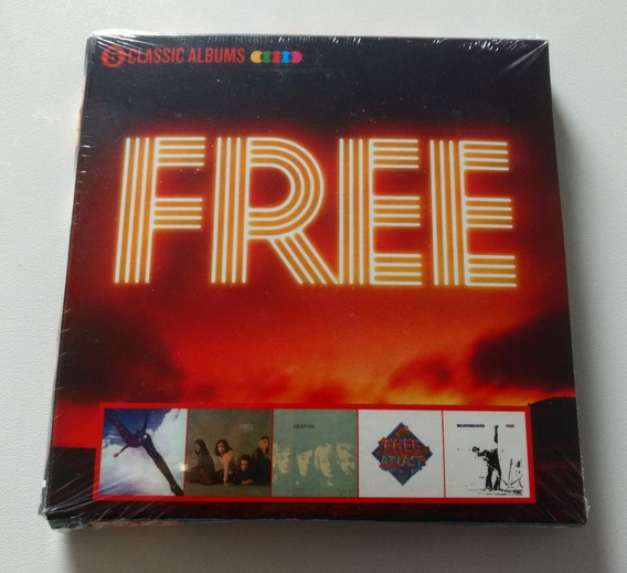 Box Free Classic Albums ( 5 Cd ) Fire And Water Heartbreaker