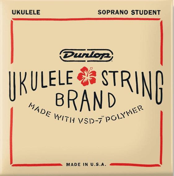 Encordoamento Dunlop Nylon Ukulele Soprano Vsd7 Duq201