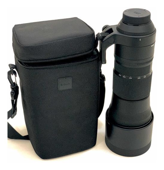 Lente Sigma Para Nikon 150-600 Mm Impecável