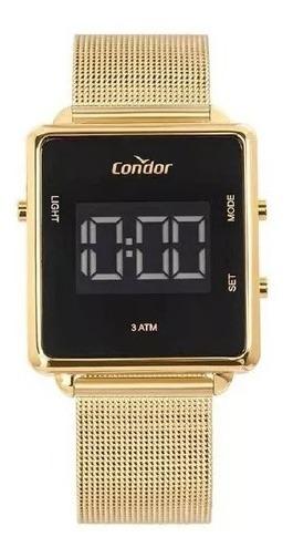 Relógio Condor Unissex Digital Cobjf156ab/4x Dourado