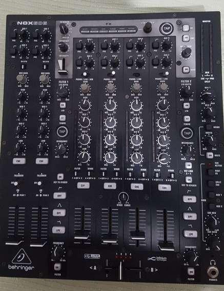 Mixer Behringer Nox 606 6 Canais