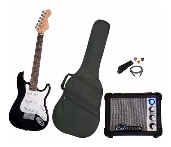 Combo Guitarra Electrica, Amplificador Y Accesorios