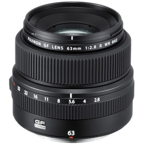 Fujifilm Gf 63mm F/2.8 R Wr Lente 63
